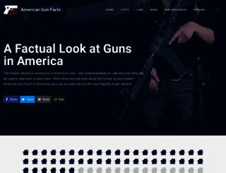 americangunfacts.com screenshot
