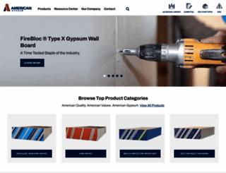 americangypsum.com screenshot