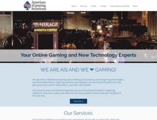 americanigamingsolutions.com screenshot