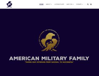 americanmilitaryfamily.org screenshot