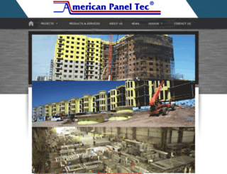 americanpaneltec.com screenshot