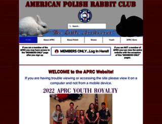 americanpolishrabbitclub.com screenshot