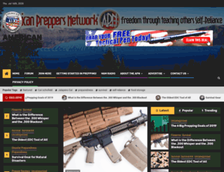 americanpreppersnetwork.com screenshot