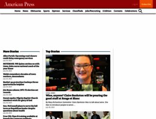 americanpress.com screenshot