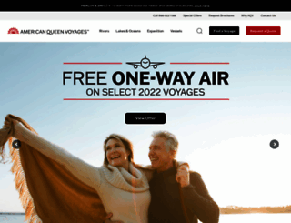 americanqueensteamboatcompany.com screenshot