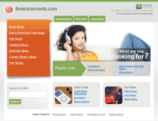 americanroots.com screenshot