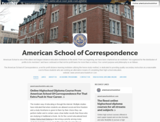 americanschoolofcor.tumblr.com screenshot