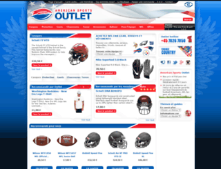 americansportsoutlet.fr screenshot