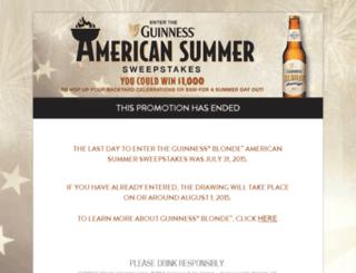 americansummersweeps.com screenshot
