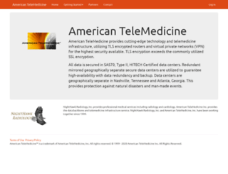 americantelemedicine.com screenshot
