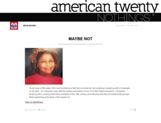 americantwentynothings.tumblr.com screenshot