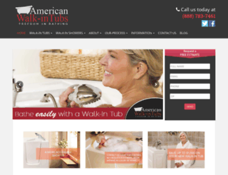 americanwalkintubs.com screenshot