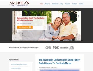americanwealthbuilders.com screenshot
