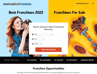 americasbestfranchises.com screenshot