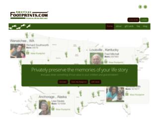 americasfootprints.com screenshot