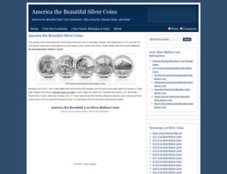 americathebeautifulsilvercoins.com screenshot