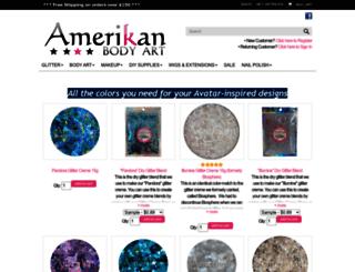 amerikanbodyart.com screenshot