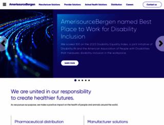 amerisourcebergen.com screenshot