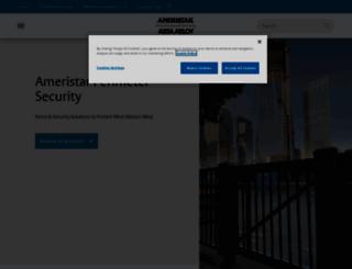 ameristarsecurity.com screenshot
