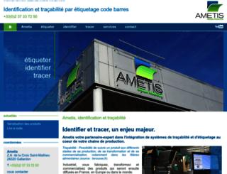 ametis.eu screenshot