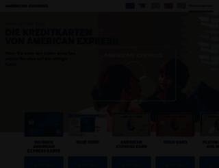 amex-kreditkarten.de screenshot