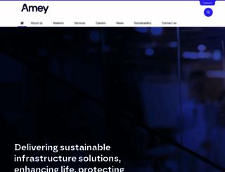 amey.co.uk screenshot
