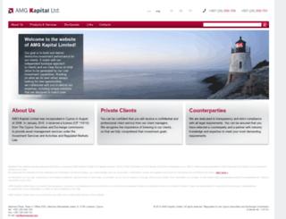 amgkapital.com screenshot