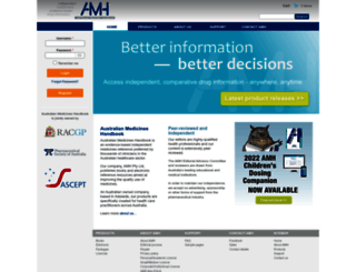 amh.net.au screenshot