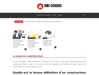 ami-conseil.com screenshot