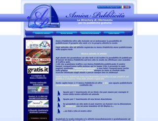 amicapubblicita.net screenshot
