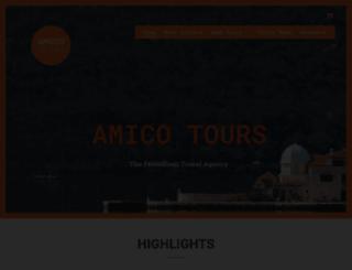 amico-tours.com screenshot
