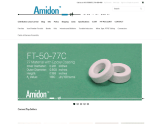 amidoncorp.com screenshot