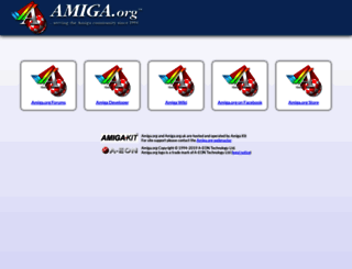 amiga.org screenshot