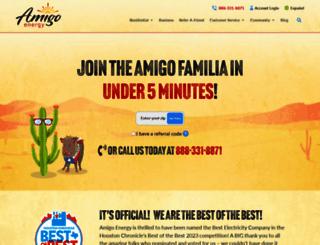 amigoenergy.com screenshot