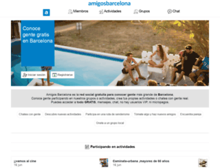 amigosbarcelona.com screenshot