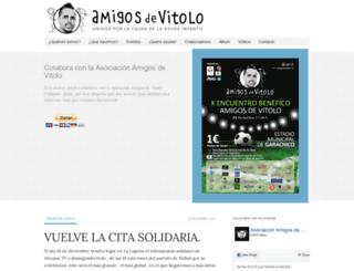 amigosdevitolo.org screenshot