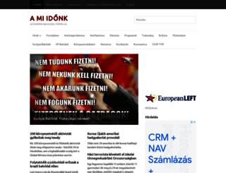 amiidonk.hu screenshot