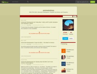 amimetobios.podbean.com screenshot