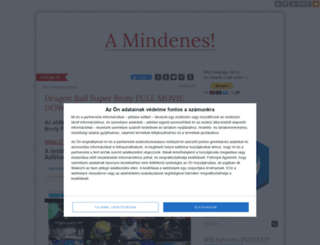 amindenes.blog.hu screenshot