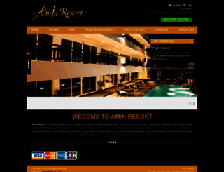 aminresort.com screenshot