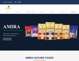 amira.net screenshot