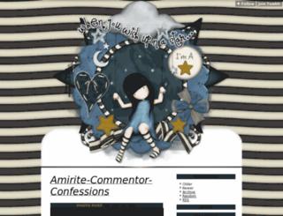 amirite-commentor-confessions.tumblr.com screenshot