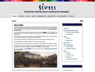 amisdesevres.com screenshot