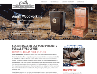 amishwoodworking.com screenshot