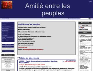 amitie-entre-les-peuples.org screenshot