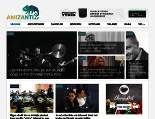 amizanti.lv screenshot