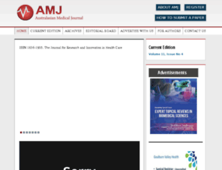 amj.net.au screenshot