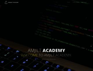 amjiltacademy.com screenshot
