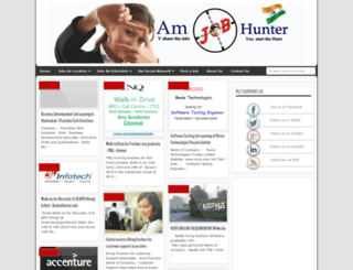 amjobhunter.blogspot.in screenshot