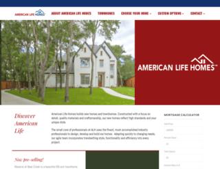 amlifehomes.com screenshot